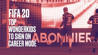 FIFA 20 Top Wonderkids To Sign On Career Mode