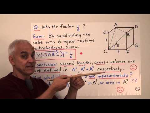 Higher dimensions and the roles of length, area and volume | Rational Geometry Math Foundations
