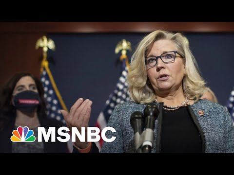 Rep. Liz Cheney Pushes Back On Trump's Election Lies, Creating GOP Rift | MTP Daily | MSNBC