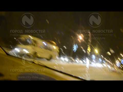 Вчерашняя авария на Кузнецком мосту в Новокузнецке