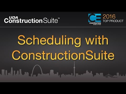 Scheduling with ConstructionSuite