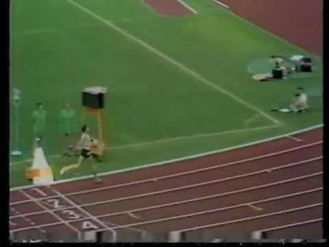 Jim Ryun Fall - 1500m Heats, Olympic Games - Munich 1972