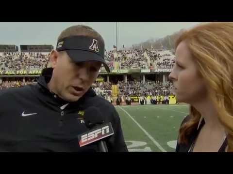 Kati Morse, Sideline Reporter: Appalachian State vs. UL Lafayette