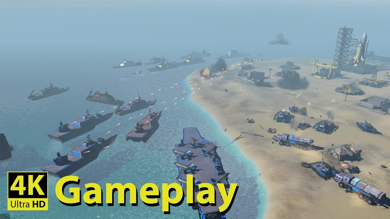 Armor Clash 2 – 4K GAMEPLAY [Modern Military Real Time Strategy Game]