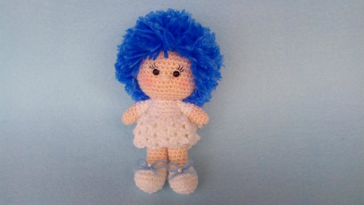 Crochet Amigurumi Doll Angel - Free Patterns | Boneca de crochet ... | 720x1280
