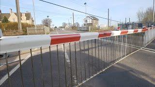 Longest Level Crossing In The UK! Helpston Level Crossing, Cambridgeshire