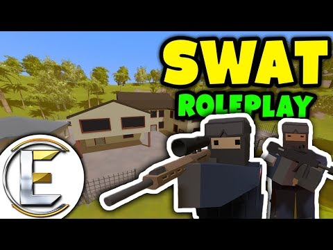 Unturned - SWAT Roleplay | Raiding a big mafia mansion of berries ( Unturned RP ) thumbnail