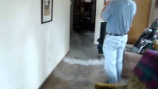 Fun with liquid nitrogen after flood in Owego, NY  September 9, 2011