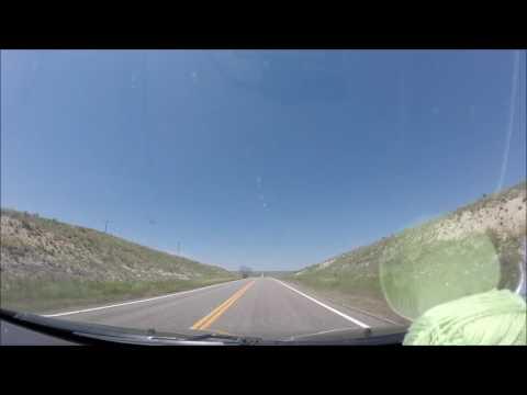 Colorado Springs, CO to Hill City, SD Timelapse
