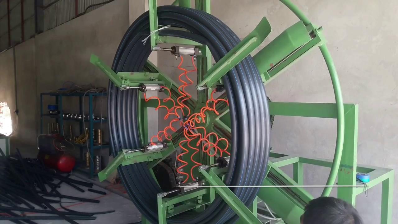 Máy đùn ống nhựa mềm dẻo,Dây chuyền sản xuất ống nhựa HDPE