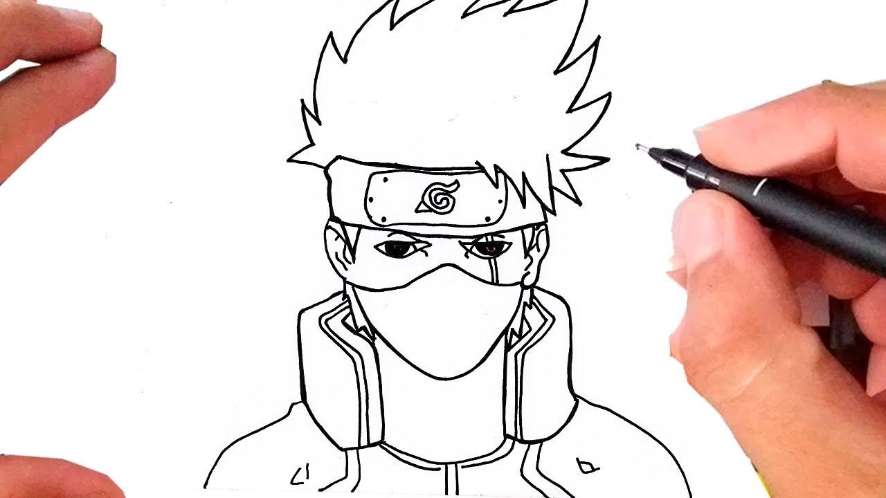 Como Desenhar O Kakashi Naruto Youtube