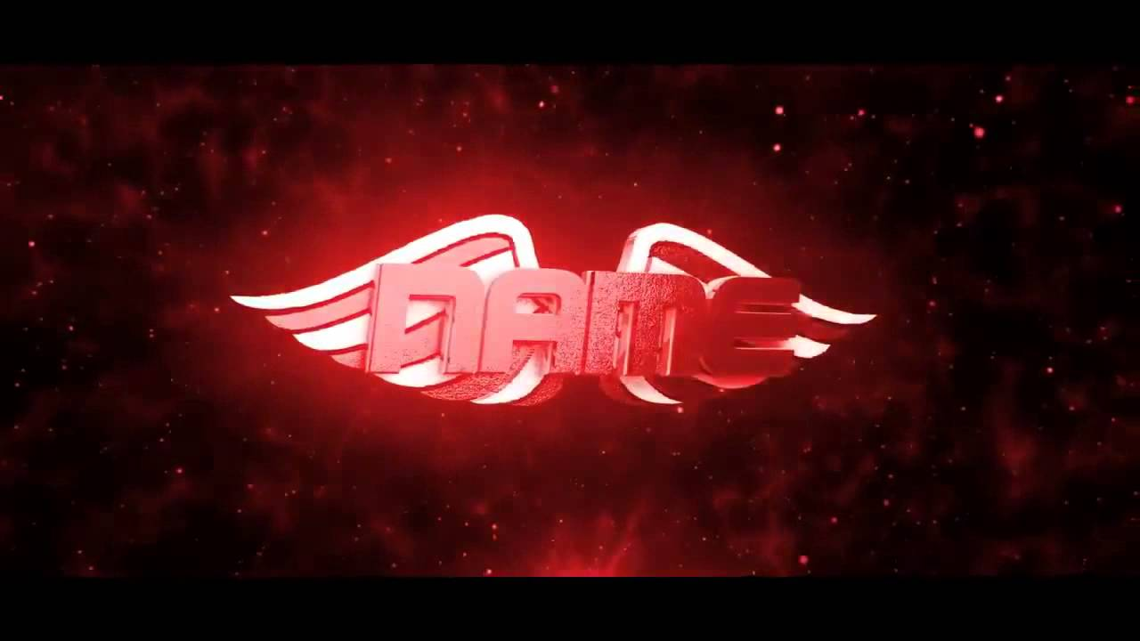 3d Wings Intro Template Free Download Ae C4d Youtube