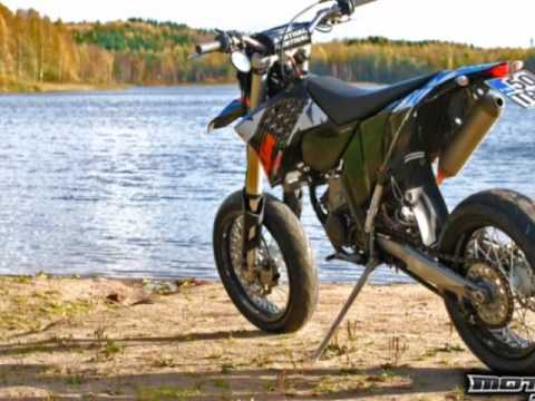 KTM Exc 125 Tuning Finland - YouTube