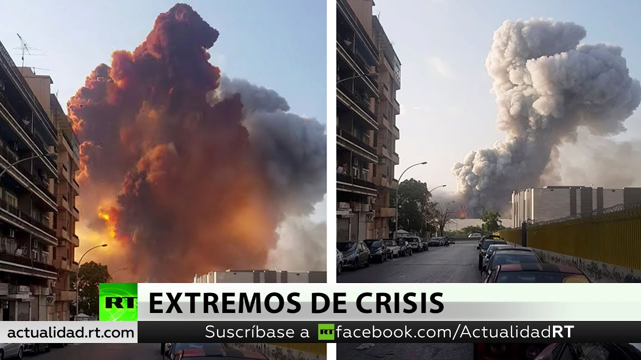 Presidente de Líbano baraja la opción de que la explosión fue ataque