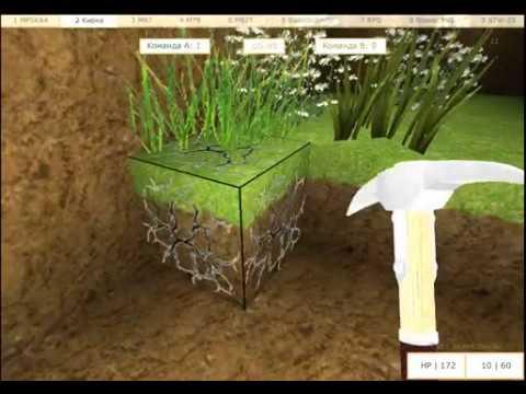 играем спряткы строй мир 3d