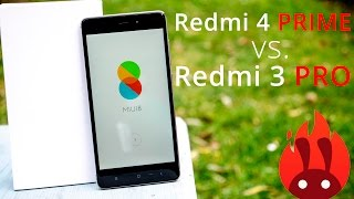 Xiaomi Redmi 4 PRO vs. Redmi 3 PRO - Detailed review + Performance comparison