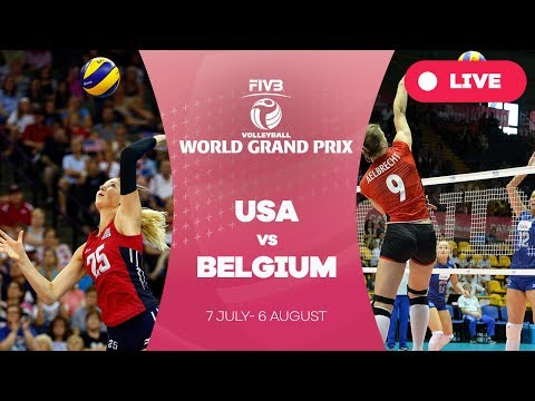 USA v Belgium - Group 1: 2017 FIVB Volleyball World Grand Prix