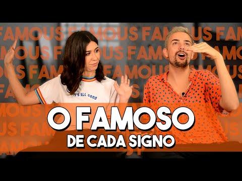 O famoso de cada signo -  com Foquinha  Vitor DiCastro