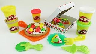 пицца пати от Play Doh! Готовим 2 обалденные пиццы!