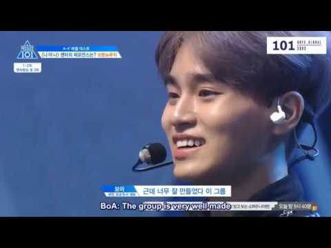 [ENG SUBS] Produce 101 Season 2 - Ranking Evaluation (BNM CUT)