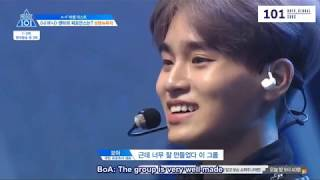[ENG SUBS] Produce 101 Season 2 - Ranking Evaluation (BNM CUT)