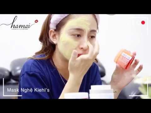Đắp mặt nạ Nghệ Kiehl's cùng Lala và Hà Mai Beauty