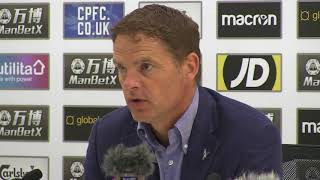 De Boer 'learns a lot' from Palace defeat
