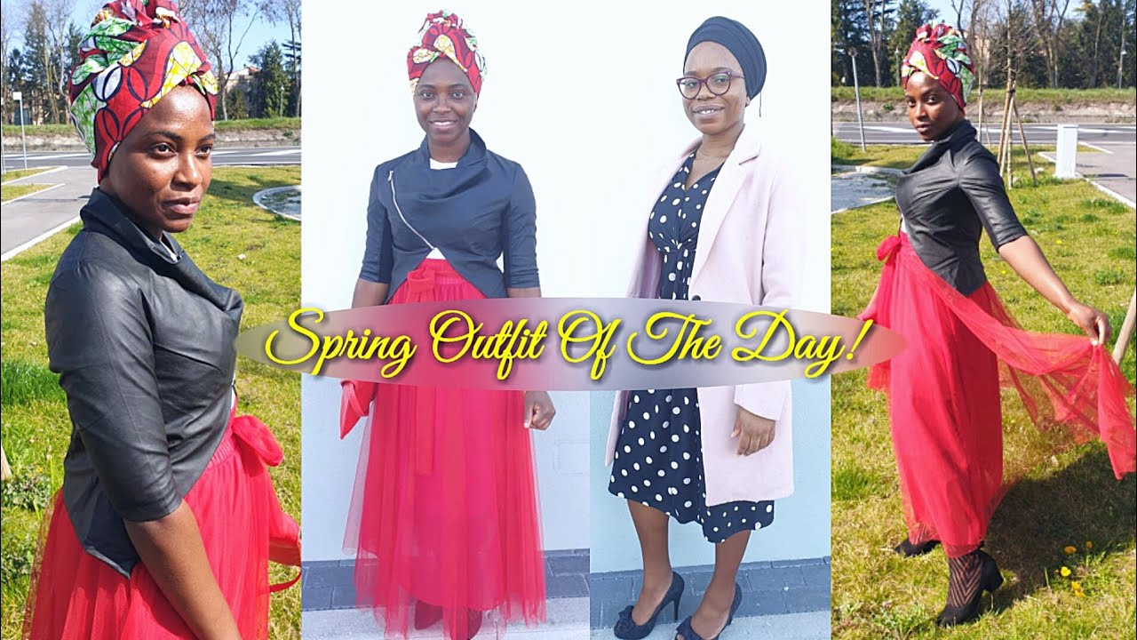 [VIDEO] - Sunday Outfit Of The Day | Modest Dressing | Spring Outfits 1
