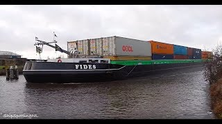 'FIDES'(1700HP) + 'YGGDRASIL' Spotted, Approaching a Very Narrow Bridge in #Groningen - #912NL ?