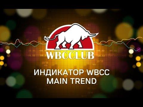 Обзор индикатора WBCC Main Trend RUS