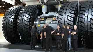 Liebherr's biggest dump truck leaving  Minexpo 2016
