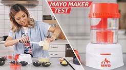 Recreating Kewpie Mayo With the MYO Mayonnaise Machine — The Kitchen Gadget Test Show
