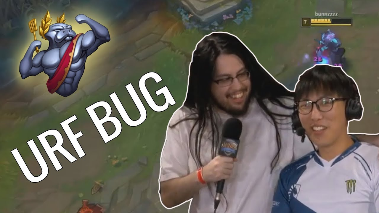 URF Flying Zed Bug | Imaqtpie shows up at the NALCS lounge | LoL Daily Moments Ep #119