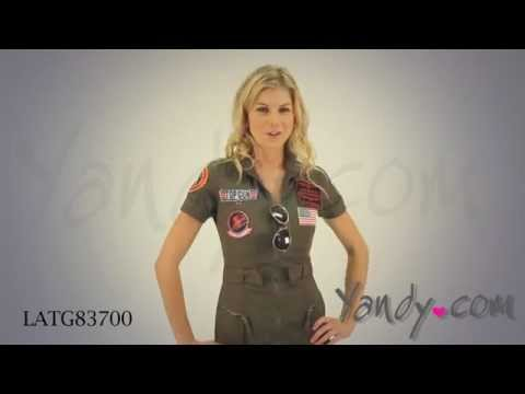 Womens Top Gun Costume Youtube