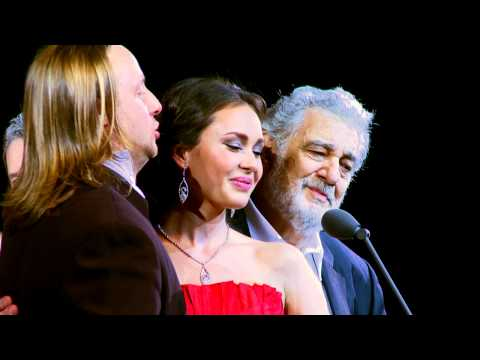 Placido Domingo, Aida Garifullina, Vladimir Dmitruk - Non Ti Scordar Di Me (Ernesto De Curtis)