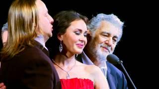 Mix - Placido Domingo, Aida Garifullina, Vladimir Dmitruk - Non Ti Scordar Di Me (Ernesto De Curtis)