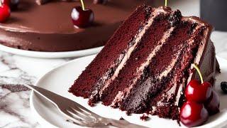 Торт Пьяная вишня ЛУЧШИЙ РЕЦЕПТ шоколадного торта с вишней Вкусно Оригинально и Легко