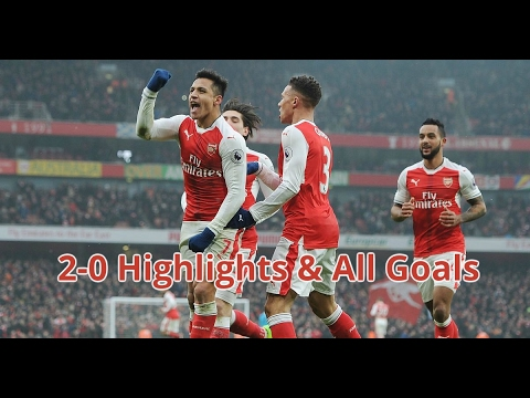 Arsenal vs Hull City 2-0 - Highlights & All Goals - 11/2/2017