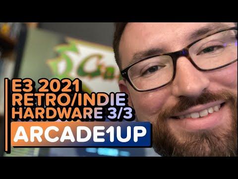Arcade1Up | E3 2021 Retro/Indie Hardware Reveals Part 3/3 from artofmana