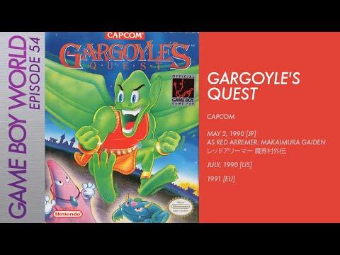 Game Boy World #054: Gargoyle's Quest [Capcom, 1990]