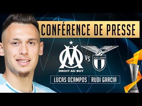 La conférence de Lucas Ocampos et Rudi Garcia #OMLazio