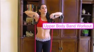 Sexy Slammin Upper Body Band Workout with Laura London Fitness