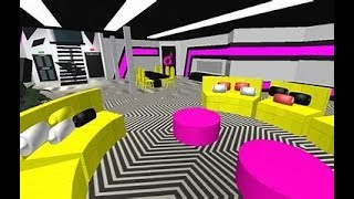ROBLOX GAMES LIVING ROOM IN YELLOW AND PINK