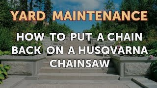 Husqvarna chainsaw penguinfeet how to put a chain back on a husqvarna chainsaw keyboard keysfo Image collections