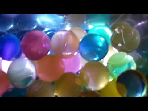 Water Beads Orbeez Sensory Activity With Water Lights