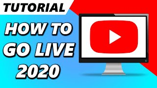 How to Livestream on YouTube in 2020! (Go LIVE on YouTube)