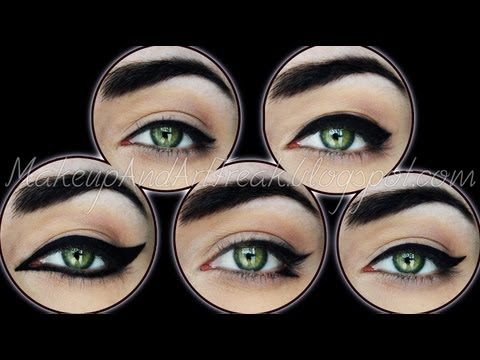 5 Ways To Wear Your Eyeliner (+ Tips&Tricks)  | MakeupAndArtFreak