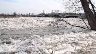 Crazy Day On The Red River Today in Winnipeg