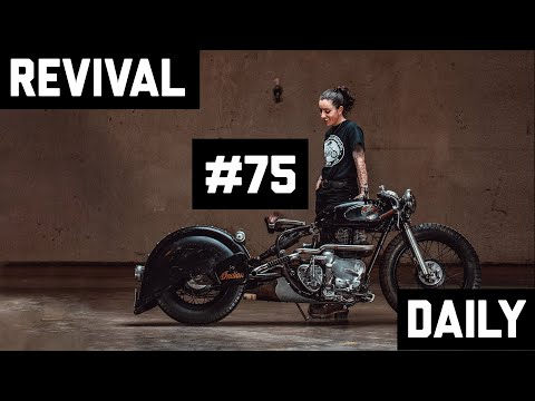 Handbuilt Show 2019 walk-though with a custom Indian and a vintage Triumph // Revival Daily #75