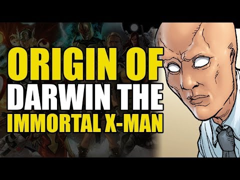 Origin of Darwin: The Immortal X-Man (X-Men Deadly Genesis P